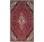 Link to 4' 7 x 7' 10 Hamedan Persian Rug