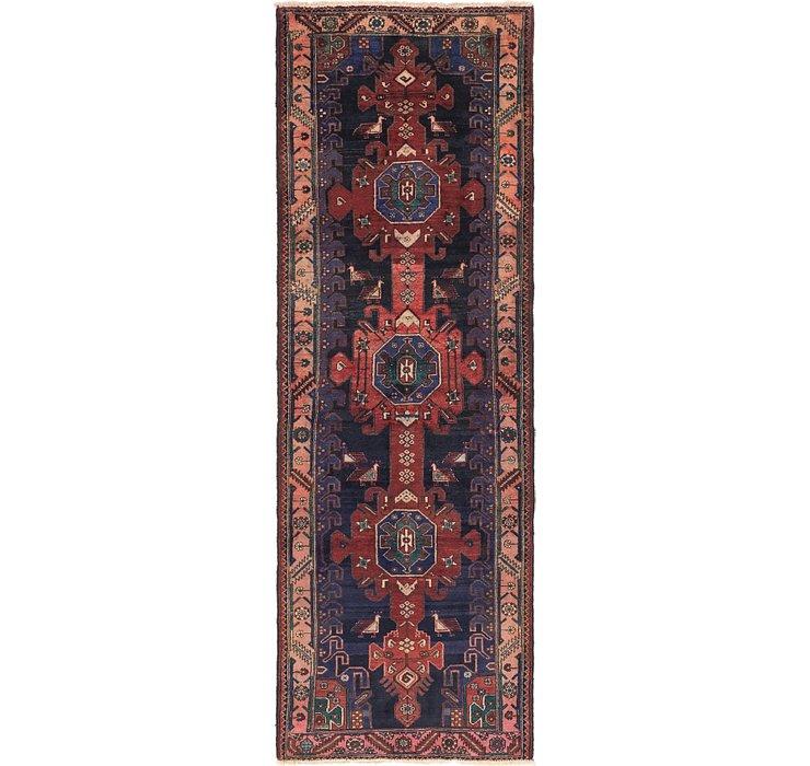 107cm x 310cm Zanjan Persian Runner Rug