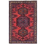 Link to 3' 6 x 5' 2 Viss Persian Rug