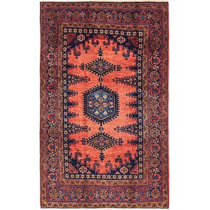 Link to 5' 3 x 8' 4 Viss Persian Rug item page