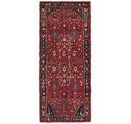 Link to 3' 10 x 8' 8 Hamedan Persian Runner Rug