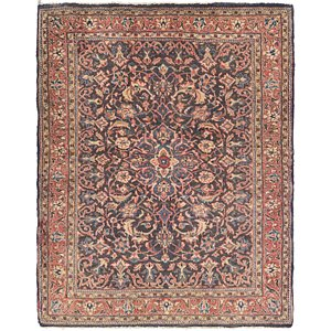 Link to 107cm x 127cm Farahan Persian Rug item page