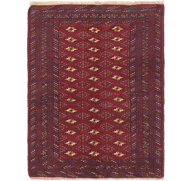 112cm x 142cm Bokhara Oriental Rug