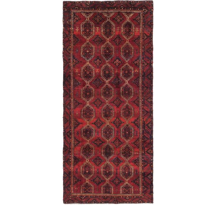 4' 5 x 10' 3 Sirjan Persian Runner Rug