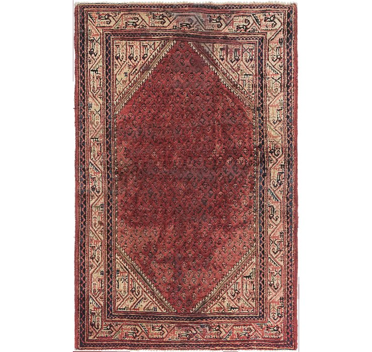 HandKnotted 4' 4 x 6' 9 Botemir Persian Rug