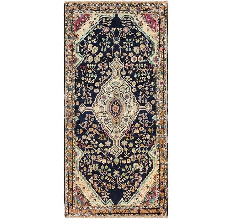 5' x 10' 3 Hamedan Persian Runner ...