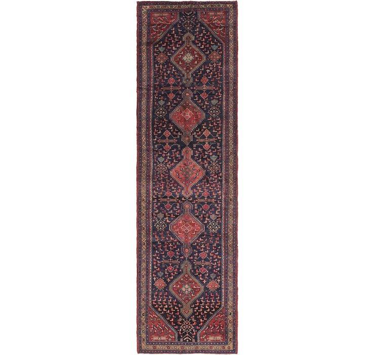 3' 7 x 14' 7 Sanandaj Persian Rug