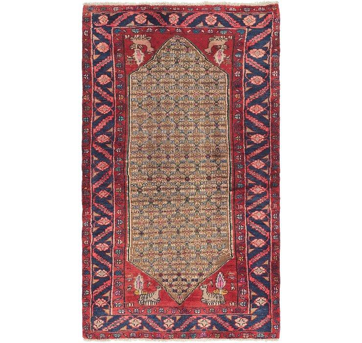 3' 8 x 6' 7 Koliaei Persian Rug