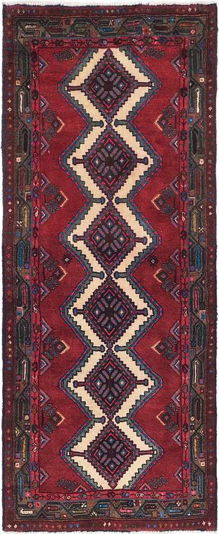 Red 3 X 7 4 Chenar Persian Runner Rug Persian Rugs Esalerugs
