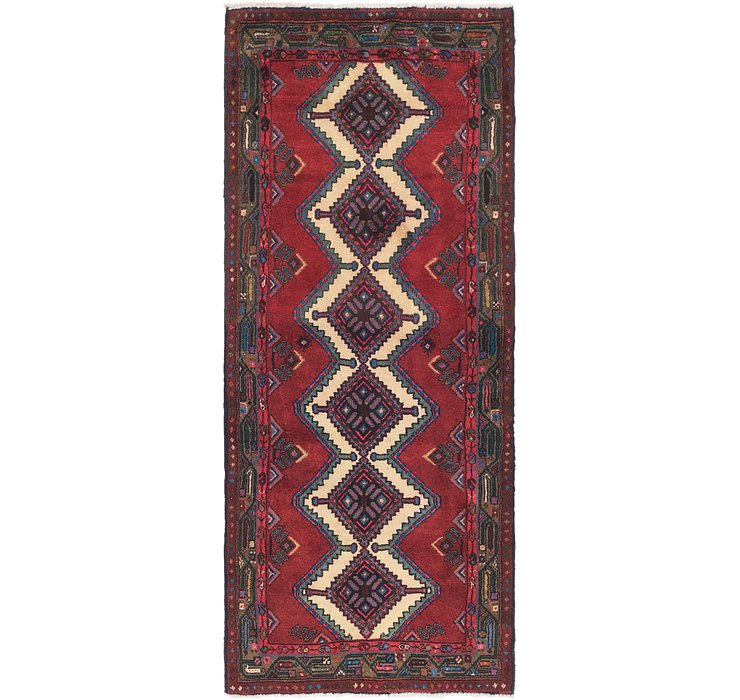 3' x 7' 4 Chenar Persian Runner Rug