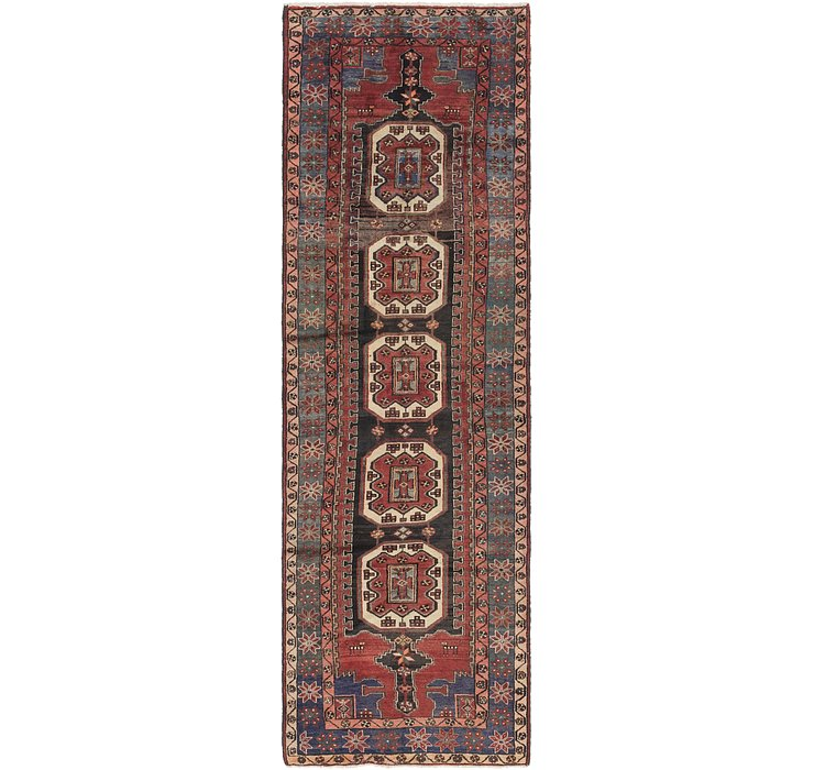 3' 9 x 12' 6 Saveh Persian Runner Rug