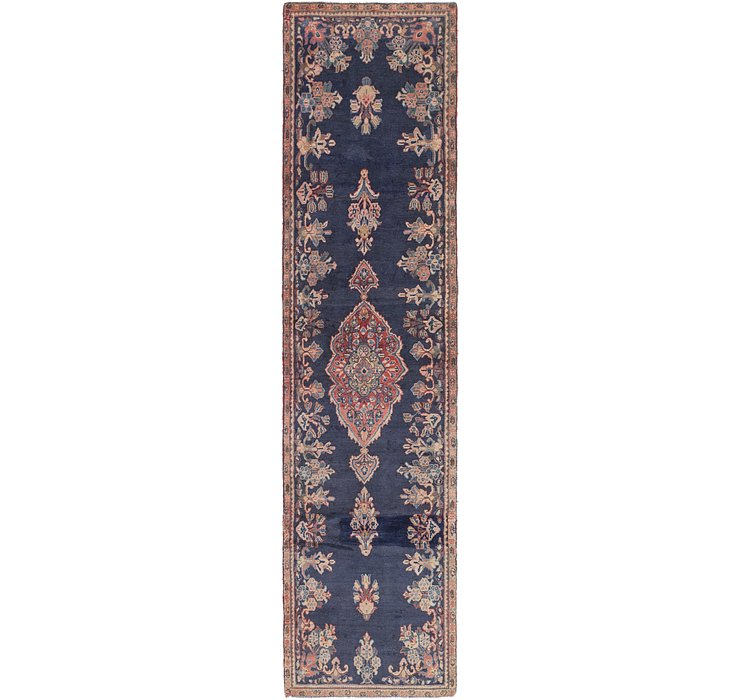 2' 10 x 12' 4 Mahal Persian Runner Rug