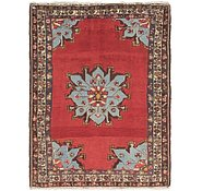 Link to 110cm x 142cm Hamedan Persian Rug