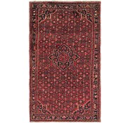 Link to 5' 5 x 10' Hossainabad Persian Rug
