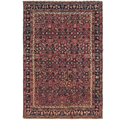 Link to 4' 2 x 6' Hossainabad Persian Rug