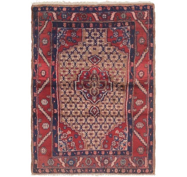 3' x 4' 5 Koliaei Persian Rug