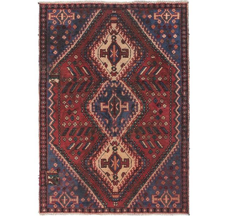 4' 2 x 5' 9 Bakhtiar Persian Rug
