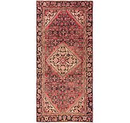 Link to 4' 7 x 10' Hossainabad Persian Runner Rug
