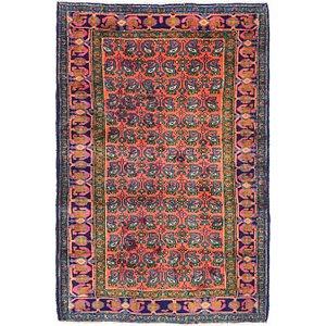 4' 3 x 6' 6 Tabriz Persian Rug