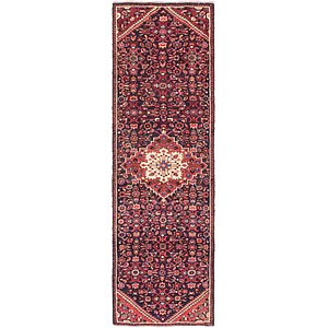 Link to 2' 10 x 9' 10 Hossainabad Persian Run... item page