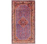 Link to 4' 9 x 9' 4 Hossainabad Persian Runner Rug