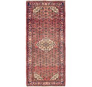 Link to 4' 10 x 11' Hossainabad Persian Runner Rug