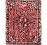 Link to 5' 2 x 6' 4 Hamedan Persian Square Rug