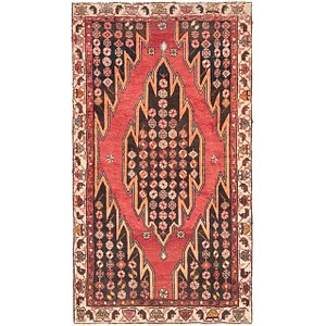 Link to 3' 9 x 6' 5 Mazlaghan Persian Rug item page