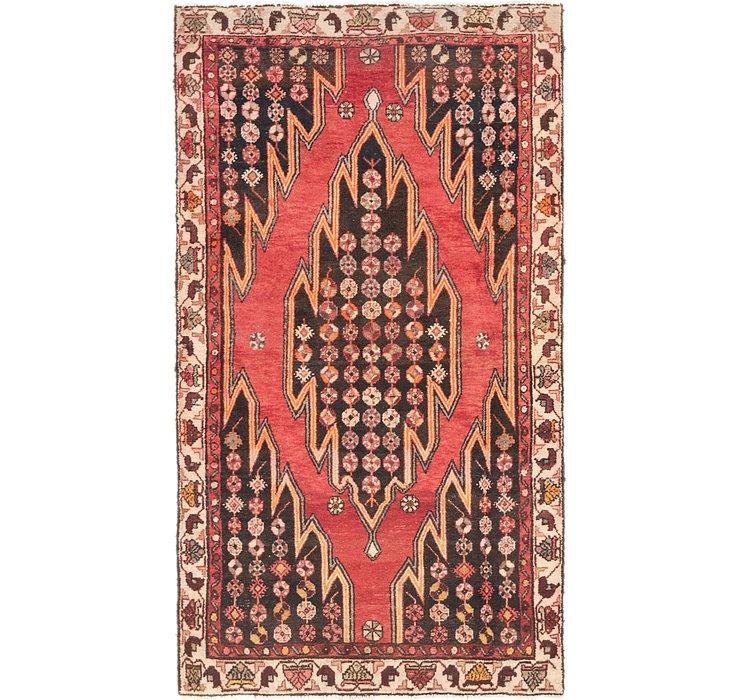 3' 9 x 6' 5 Mazlaghan Persian Rug
