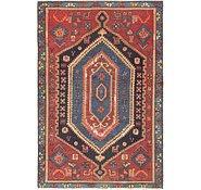 Link to 4' x 5' 10 Zanjan Persian Rug