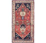 Link to 107cm x 208cm Hamedan Persian Runner Rug