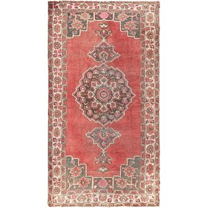 HandKnotted 3' 10 x 7' Ferdos Persian Rug