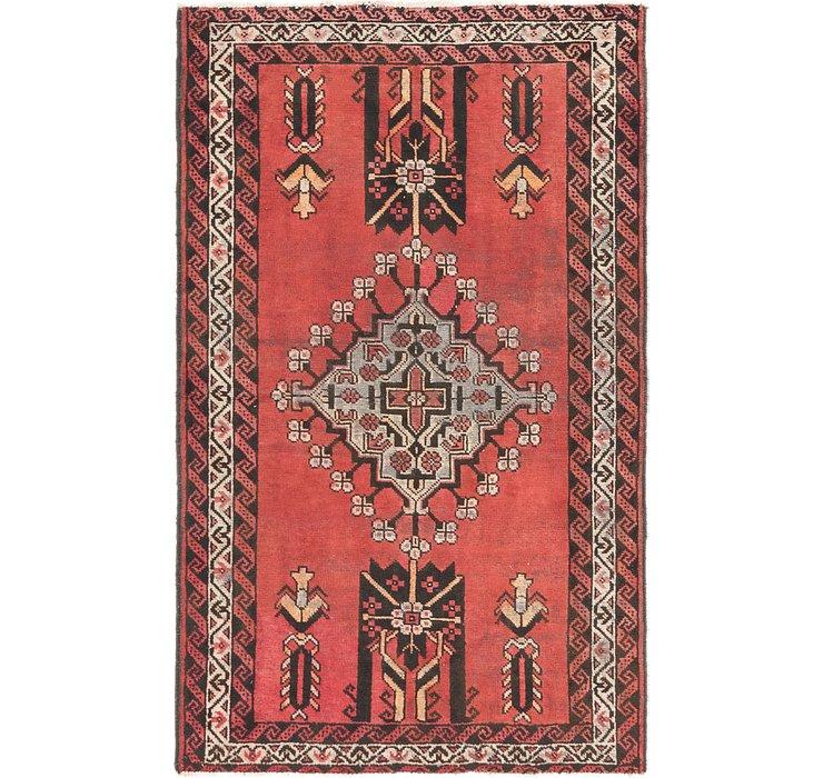4' 4 x 6' 9 Ferdos Persian Rug