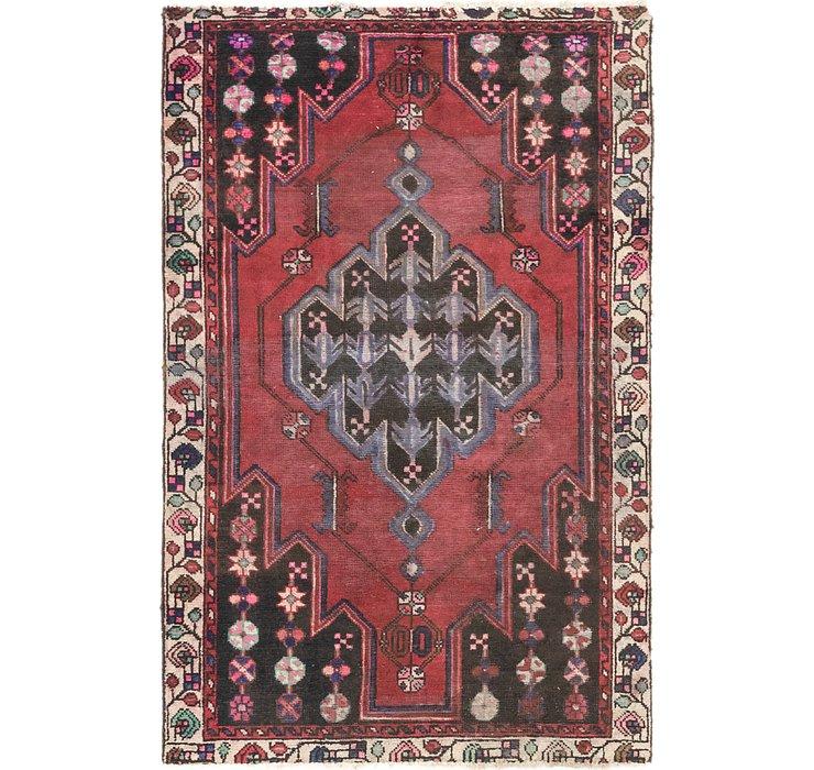 4' x 6' 4 Ferdos Persian Rug