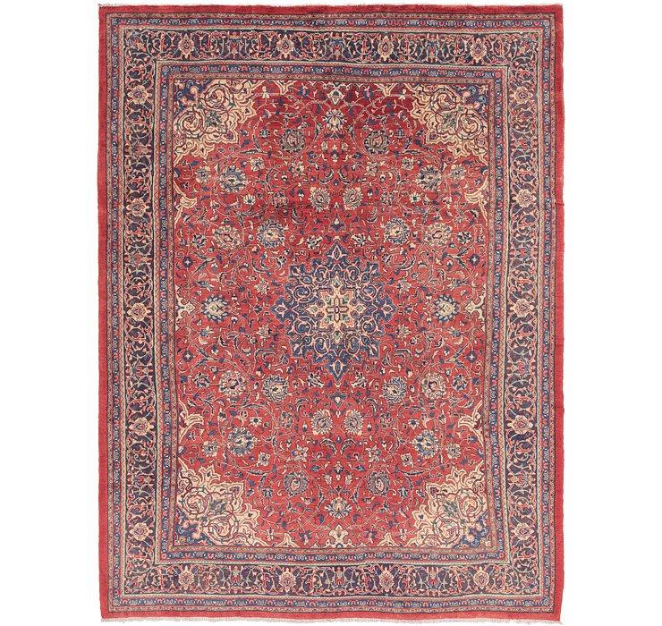 9' 7 x 13' 2 Sarough Persian Rug