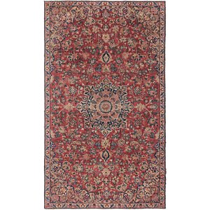 Unique Loom 5' 3 x 9' Isfahan Persian Rug