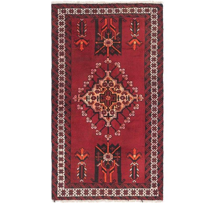 3' 10 x 6' 10 Ferdos Persian Rug