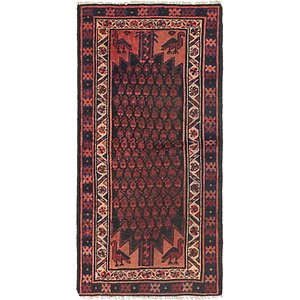 Link to 3' 4 x 6' 5 Balouch Persian Runner ... item page