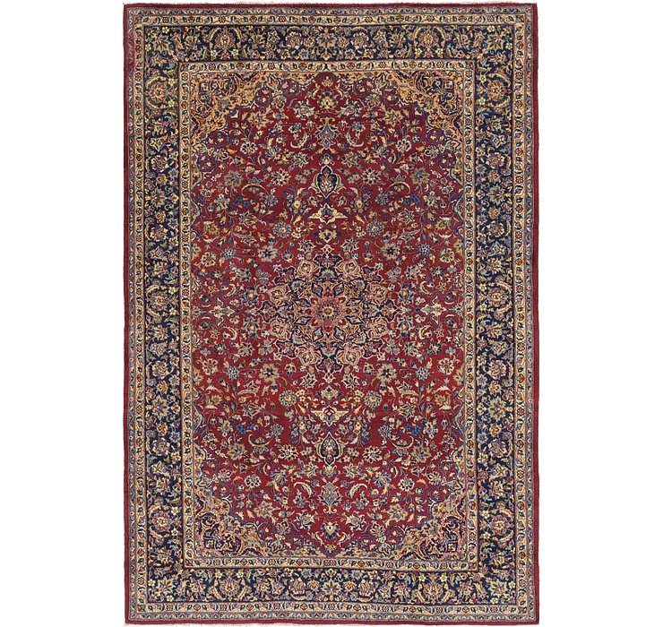9' 7 x 14' 5 Isfahan Persian Rug