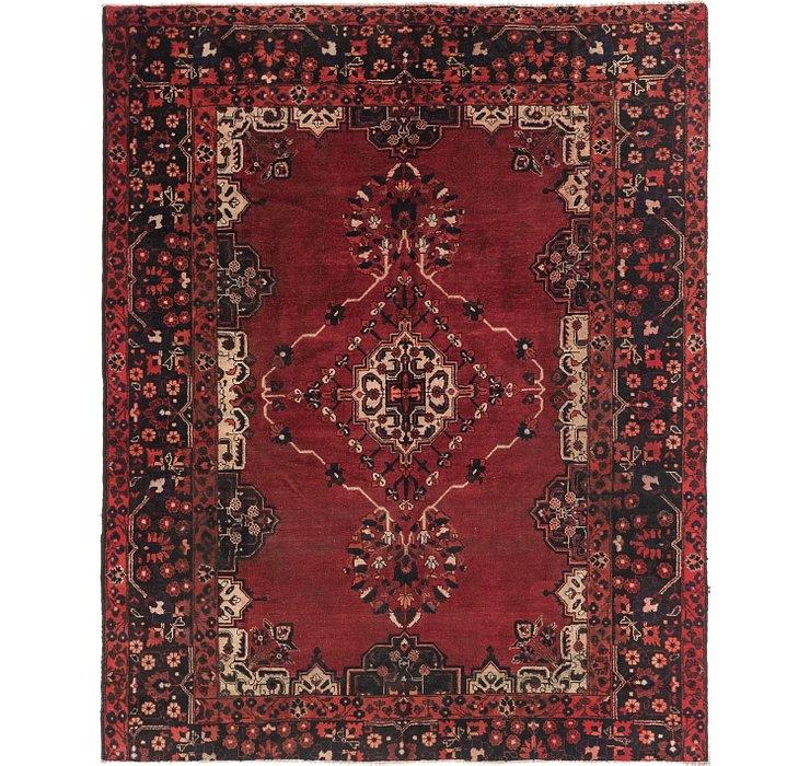 7' x 8' 5 Ferdos Persian Square Rug
