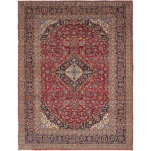 Link to 10' x 12' 10 Kashan Persian Rug item page