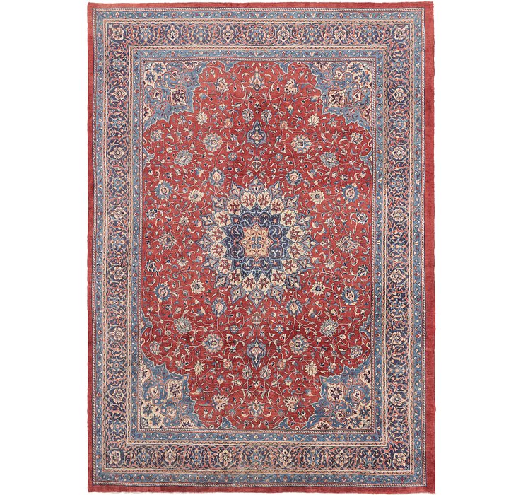 HandKnotted 9' 10 x 14' Mahal Persian Rug