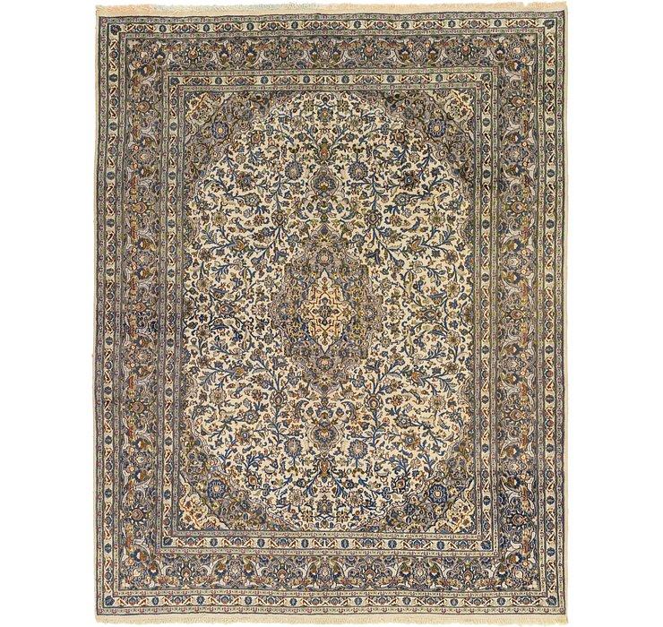 9' 7 x 12' 5 Kashan Rug