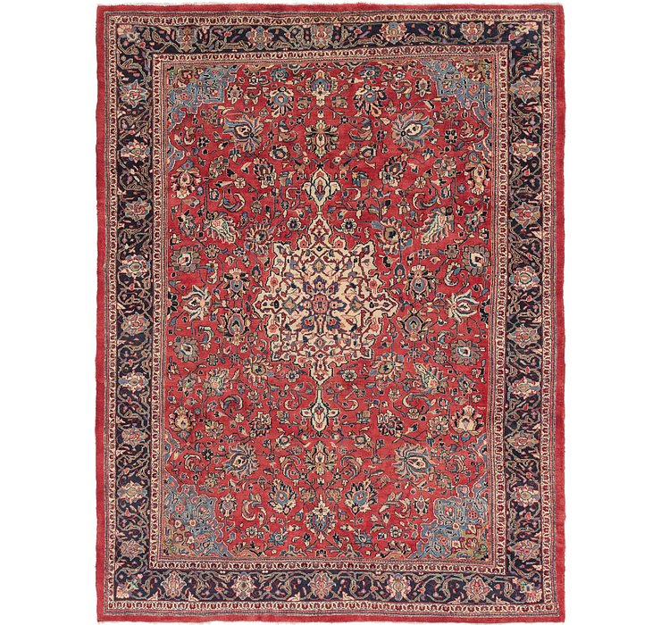 9' 9 x 12' 10 Sarough Persian Rug