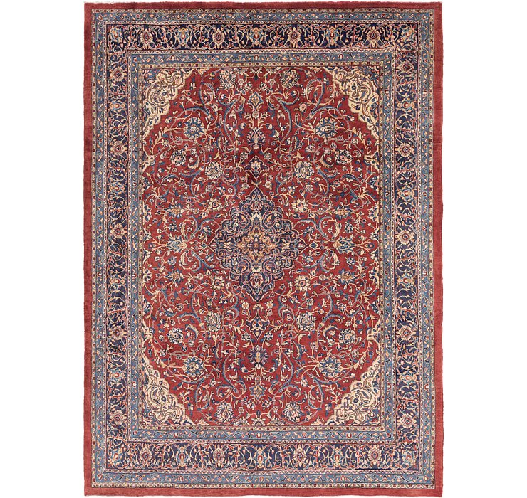 9' 9 x 13' 5 Sarough Persian Rug