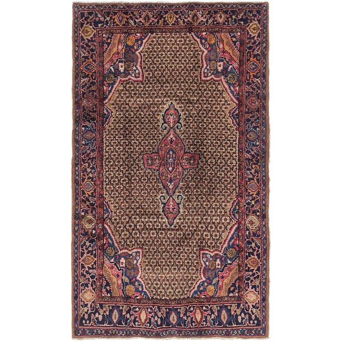 5' 3 x 9' Songhor Persian Rug