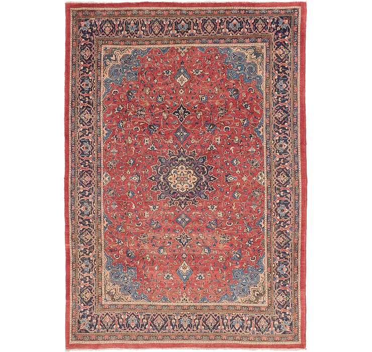 8' 2 x 11' 6 Sarough Persian Rug