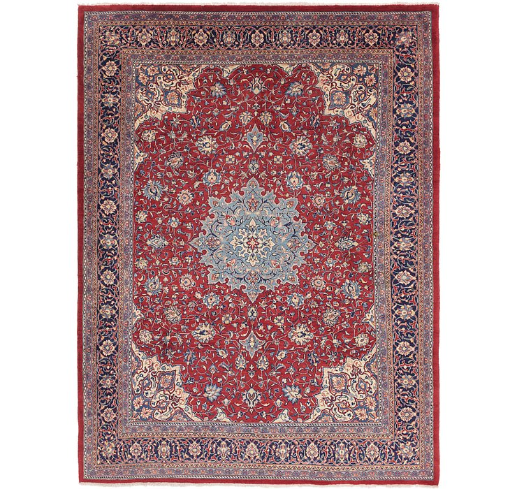 9' 9 x 13' Sarough Persian Rug