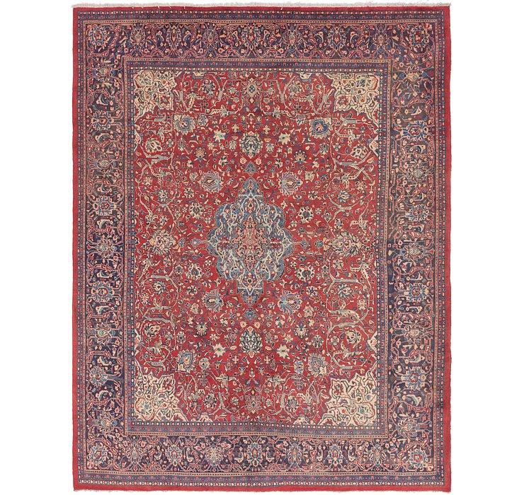 10' 7 x 13' 10 Sarough Persian Rug