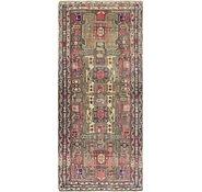 Link to 4' 4 x 10' Ardabil Persian Runner Rug